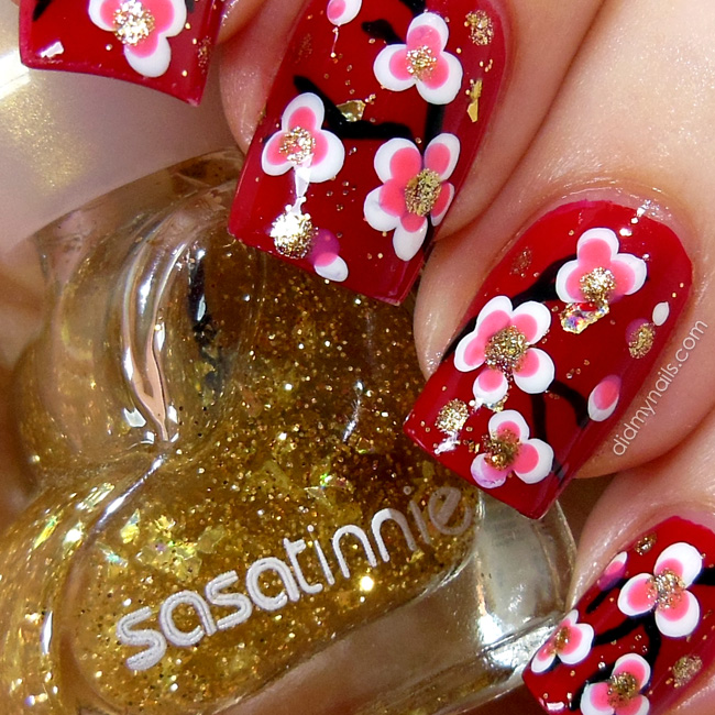 Did my nails chinese new year nail art chinese new year nail art prinsesfo Gallery