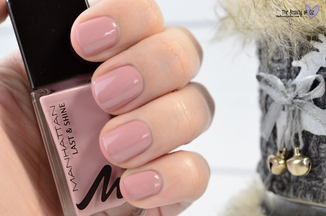 Manhattan Last & Shine Nail Polish Signature Nude