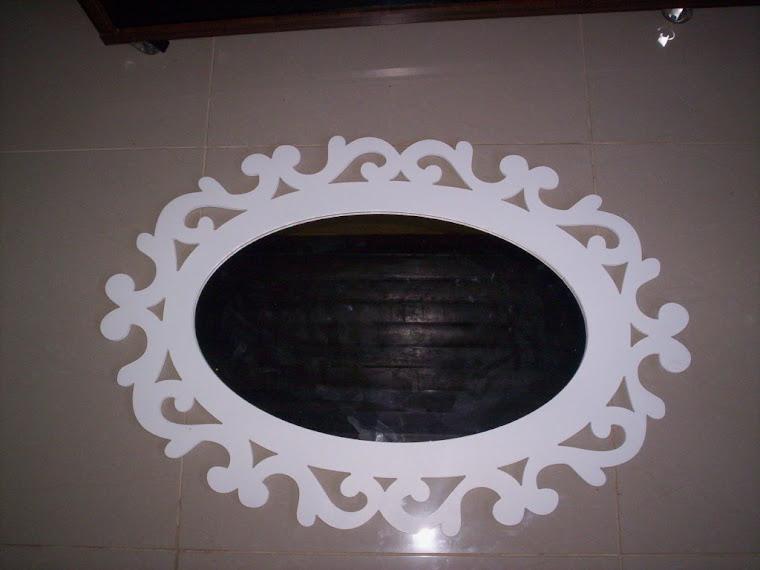 Moldura grande de espelho R$ 150,00