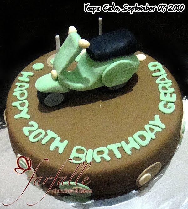 spoiler for kue ulang tahunnya scooterist
