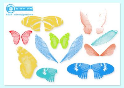 Brush kupu-kupu dan serangga