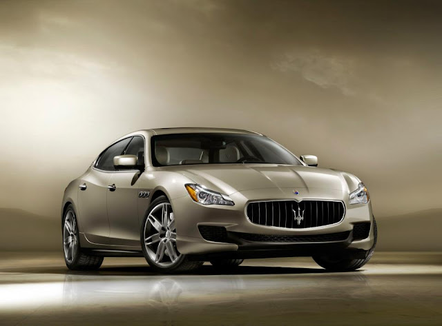 Quattroporte Maserati Sick Car Front 2013 New