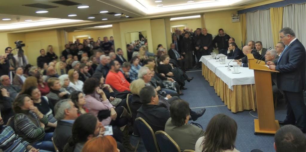 Σείστηκε ο Πειραιάς από την παρουσίαση του αυτοδιοικητικού ψηφοδελτίου της Χρυσής Αυγής - Φωτορεπορτάζ
