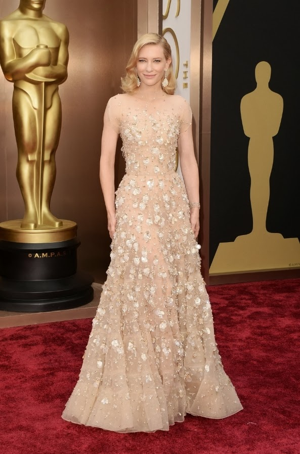 Cate Blanchett in Armani at the Oscars