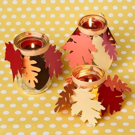 Decoracion para accion de gracias con papel for Decoracion de mesa para accion de gracias