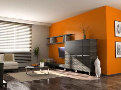 Interior rumah  minimalis modern sederhana