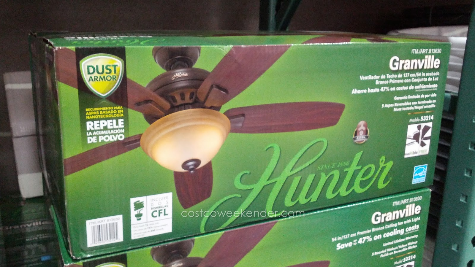 Hunter Granville 54 Inch Ceiling Fan To Keep Your Home Cool
