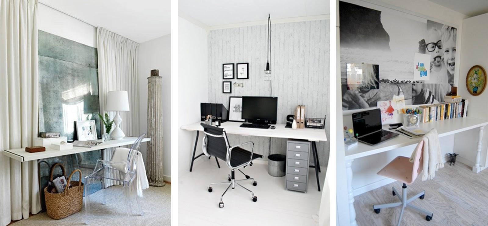 Espacios para trabajar - HomePersonalShopper, casa, luz, blanco, negro, compartido, color, tranquilo, motivador, pequeño, rincón, amplio, luminoso, escondido