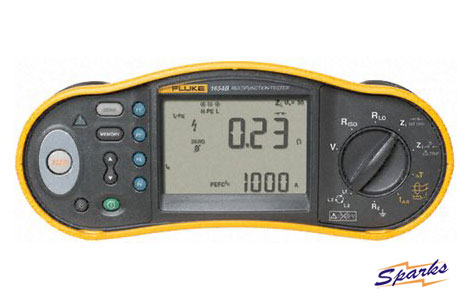 The 1645B Tester from the Fluke Kit