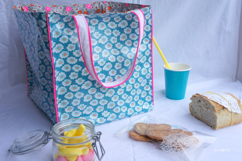 lunch bag tuto inside. Black Bedroom Furniture Sets. Home Design Ideas