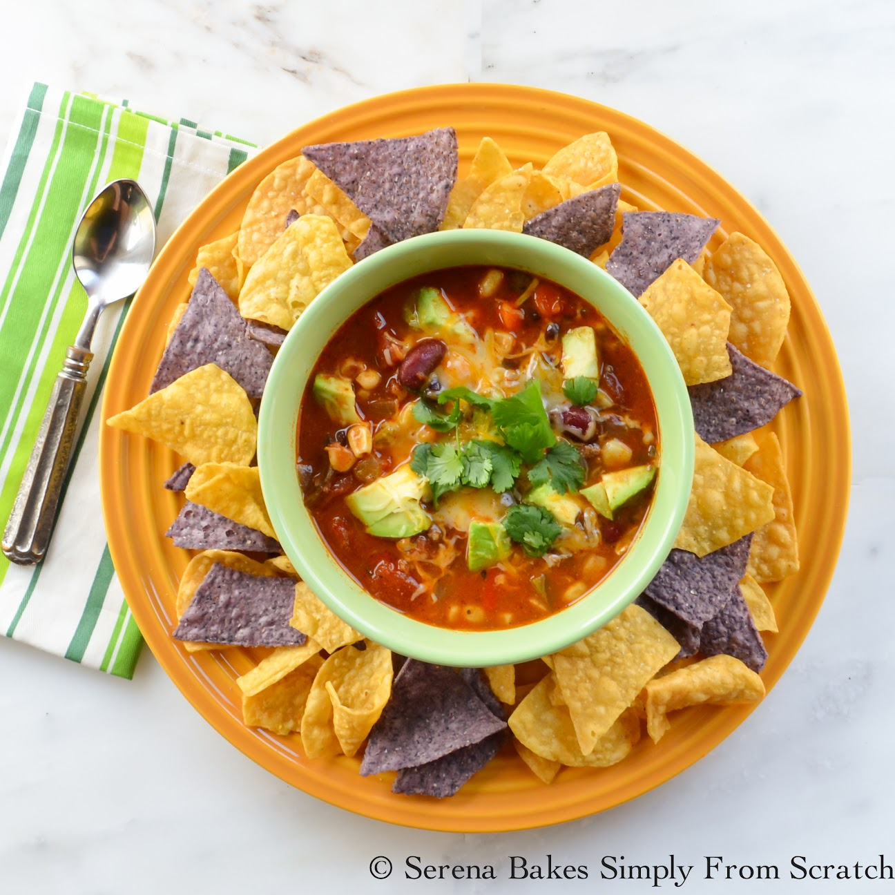 Hamburger Taco Soup