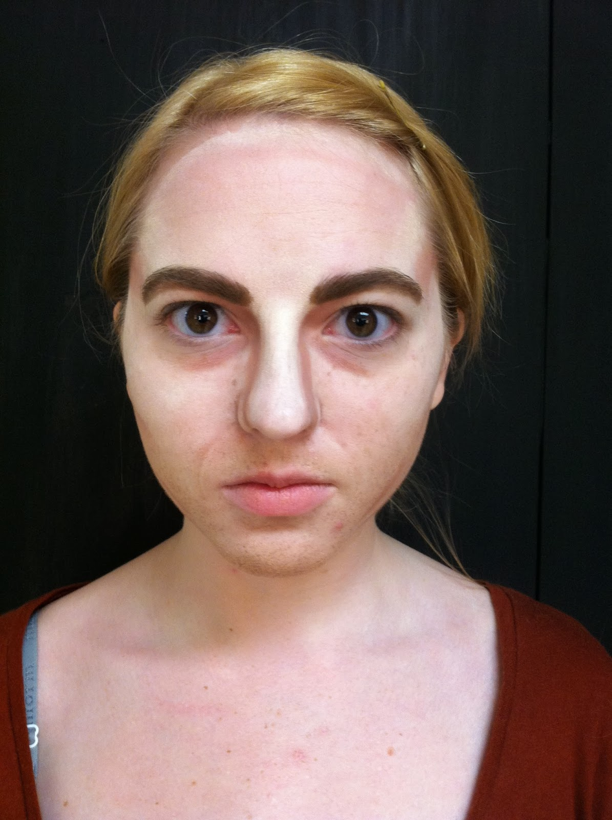 stage makeup morgue  gender reversal  opposite sex