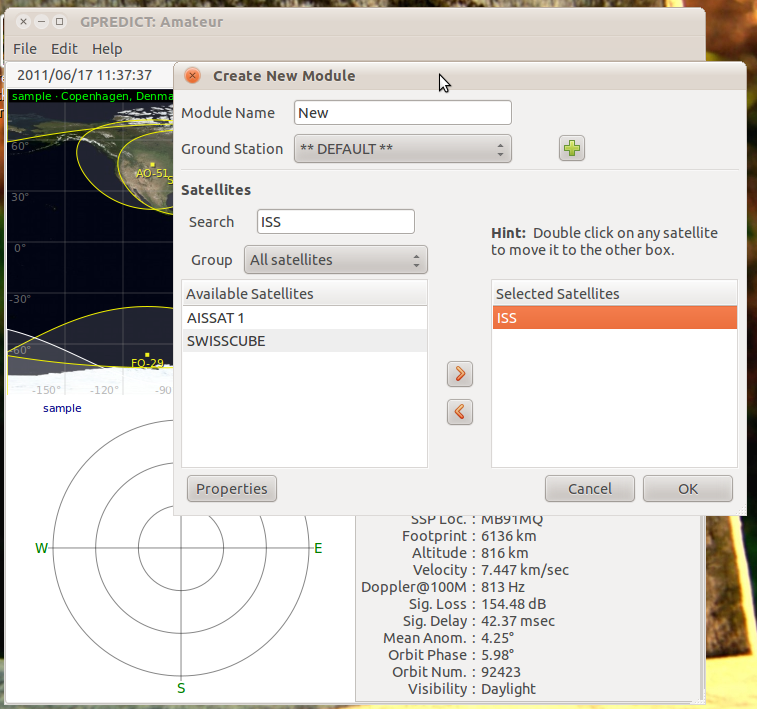Install Gpredict in Ubuntu (a Satellite Tracking Software for GNU/Linux)