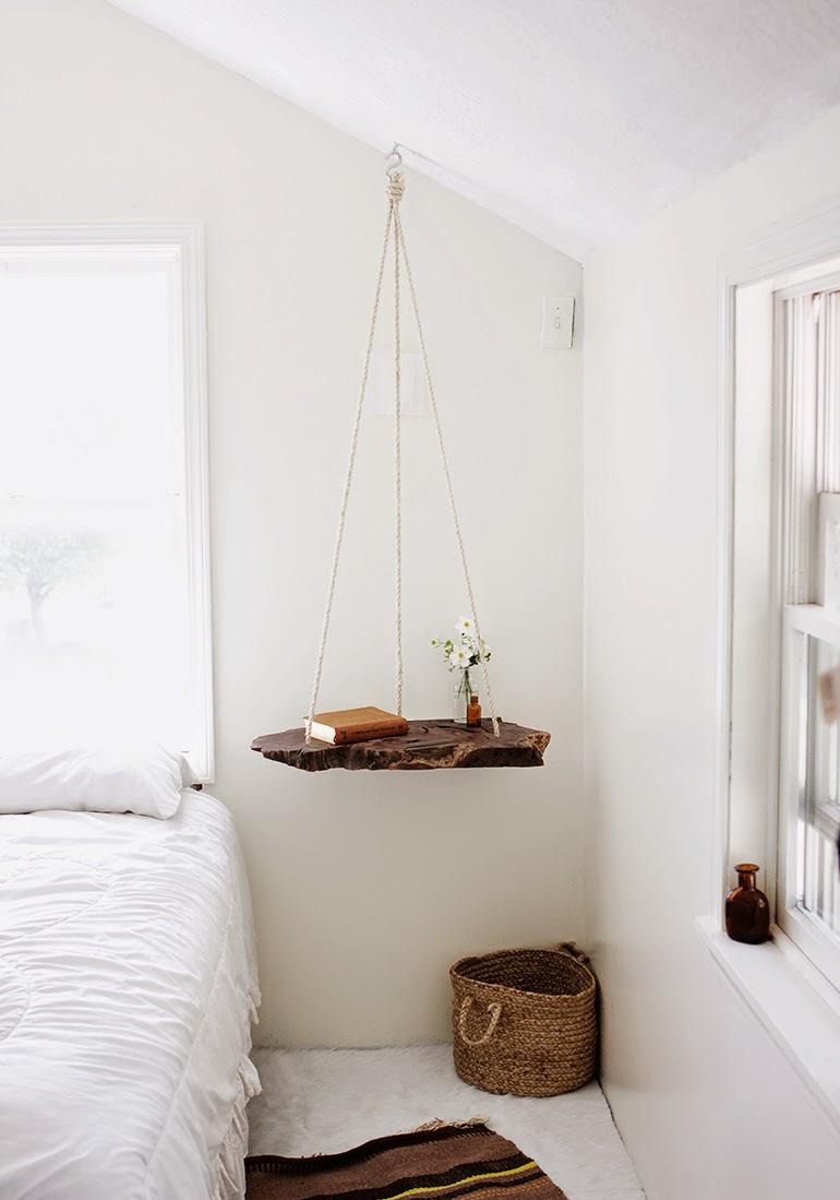 Diy mesa colgante de madera | DEF Deco - Decorar en familia3