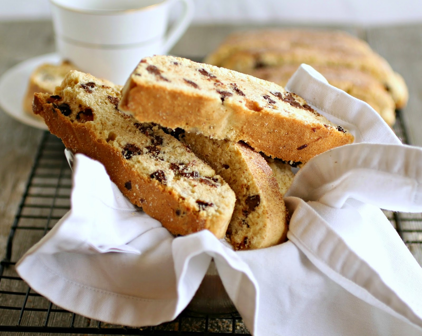 ... Couple: Passover Chocolate Chip Mandel Bread (Jewish Biscotti Cookies