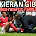 Kieran Gibbs tambah runsing Prof. Wenger