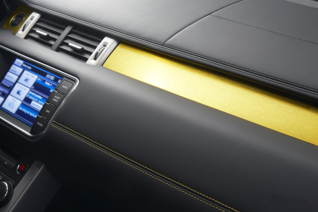 car in 2013 Range Rover Evoque Sicilian Yellow Edition