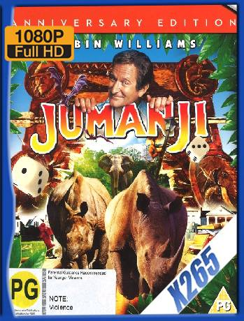 Jumanji (1995) x265 [1080p] [Latino] [GoogleDrive] [RangerRojo]