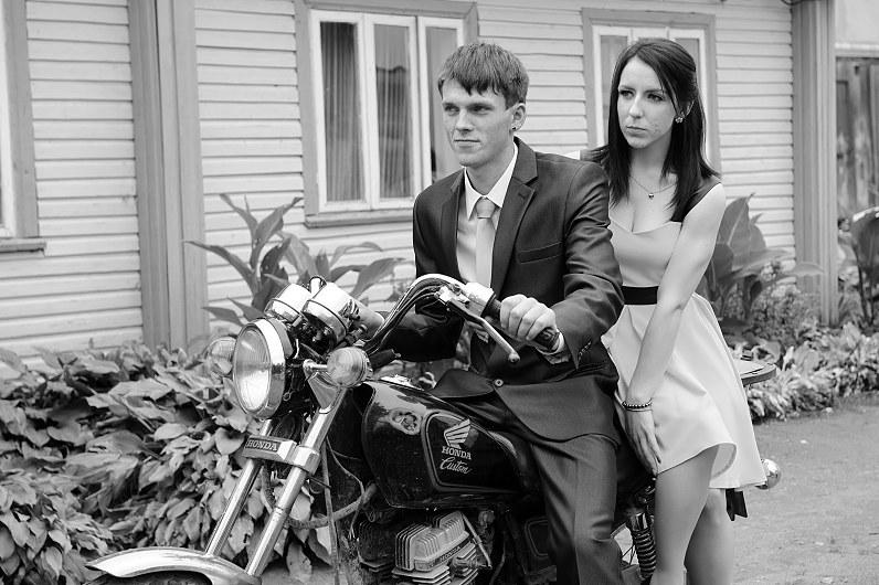 motociklai vestuvėms