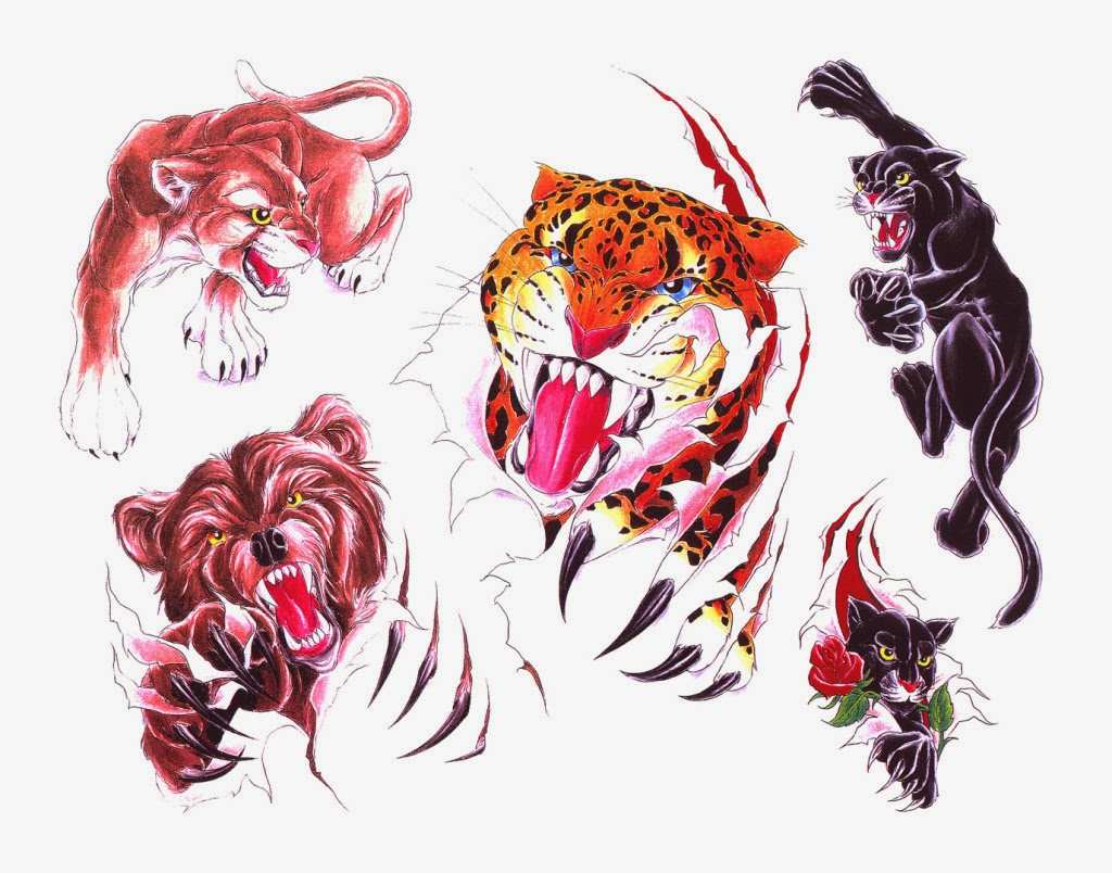 Animals Tattoo's Design