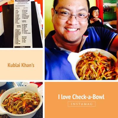 Kublai Khan's Mongolian Eat-All-You-Can, Check-a-bowl