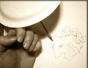 Blind Contour Line Drawing Definition : Art e journal lesson blind contour drawing for
