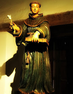 Santo Antônio de Pádua no Museu Diocesano de San Ignacio Guazu, no Paraguai.