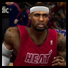 NBA 2K13 Unlock Jerseys Miami Heat Red Christmas Jersey