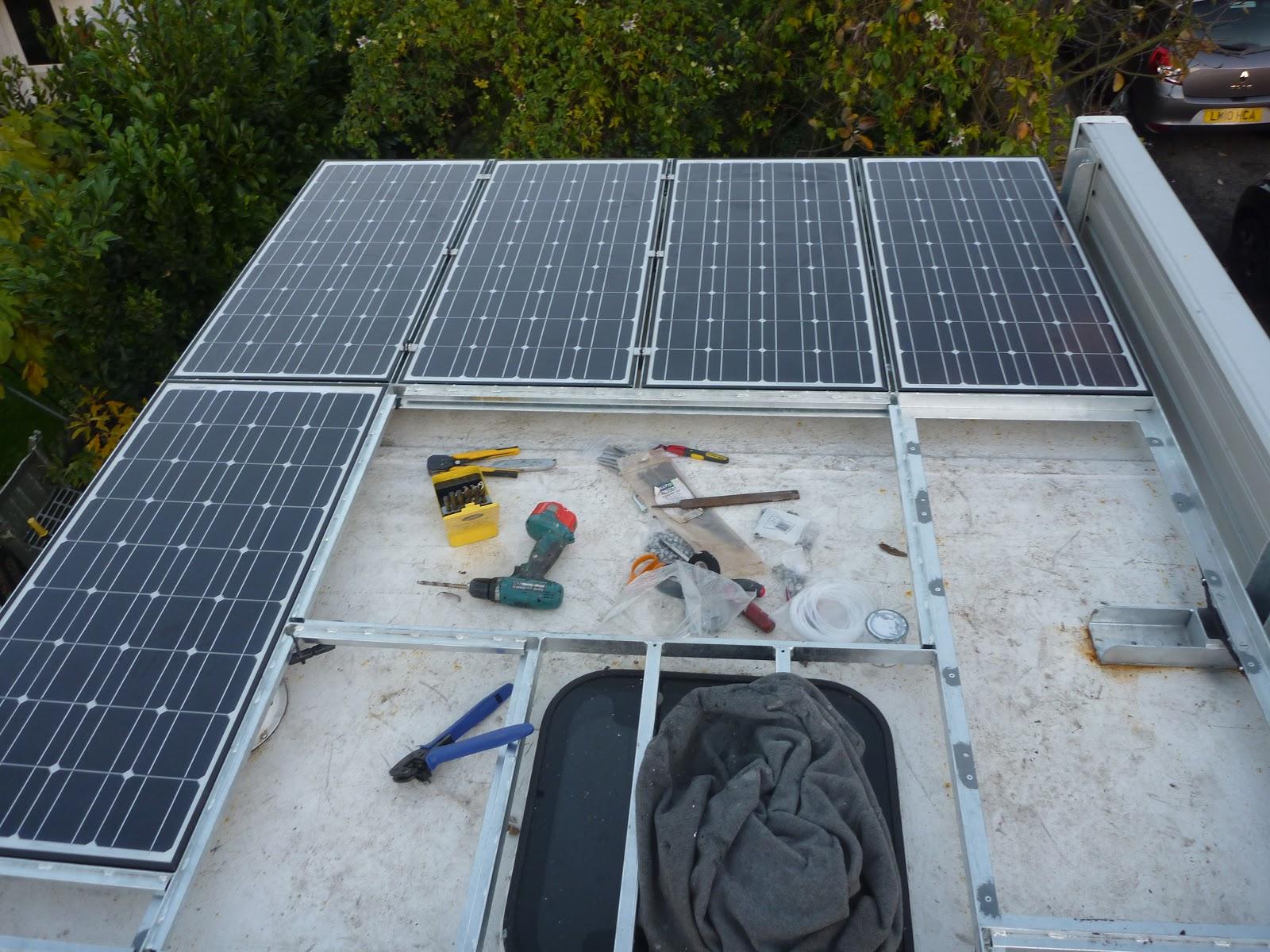 Jim The Truck Solar Install