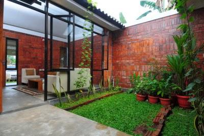 Desain Taman Mungil Rumah Minimalis  Desain Denah Rumah Minimalis