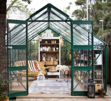 so i read a lot of books and searched the internet for the best approach to designing the interior space of a small greenhouse the main point naturally