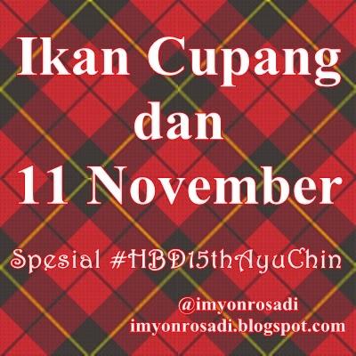 Ikan Cupang dan 11 November Ulang Tahun Nabilah JKT48