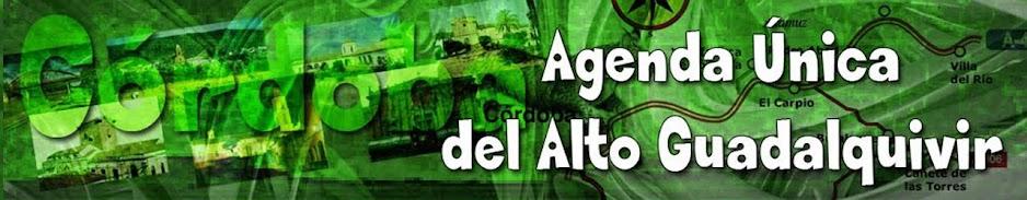 Agenda Única de Villa del Río y la comarca.