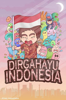 Long live Indonesia 70