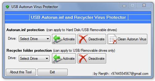 USB Autorun Virus Protector 3.3.8.1 portable