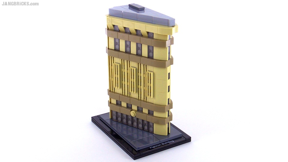lego architecture flatiron building review - set 21023