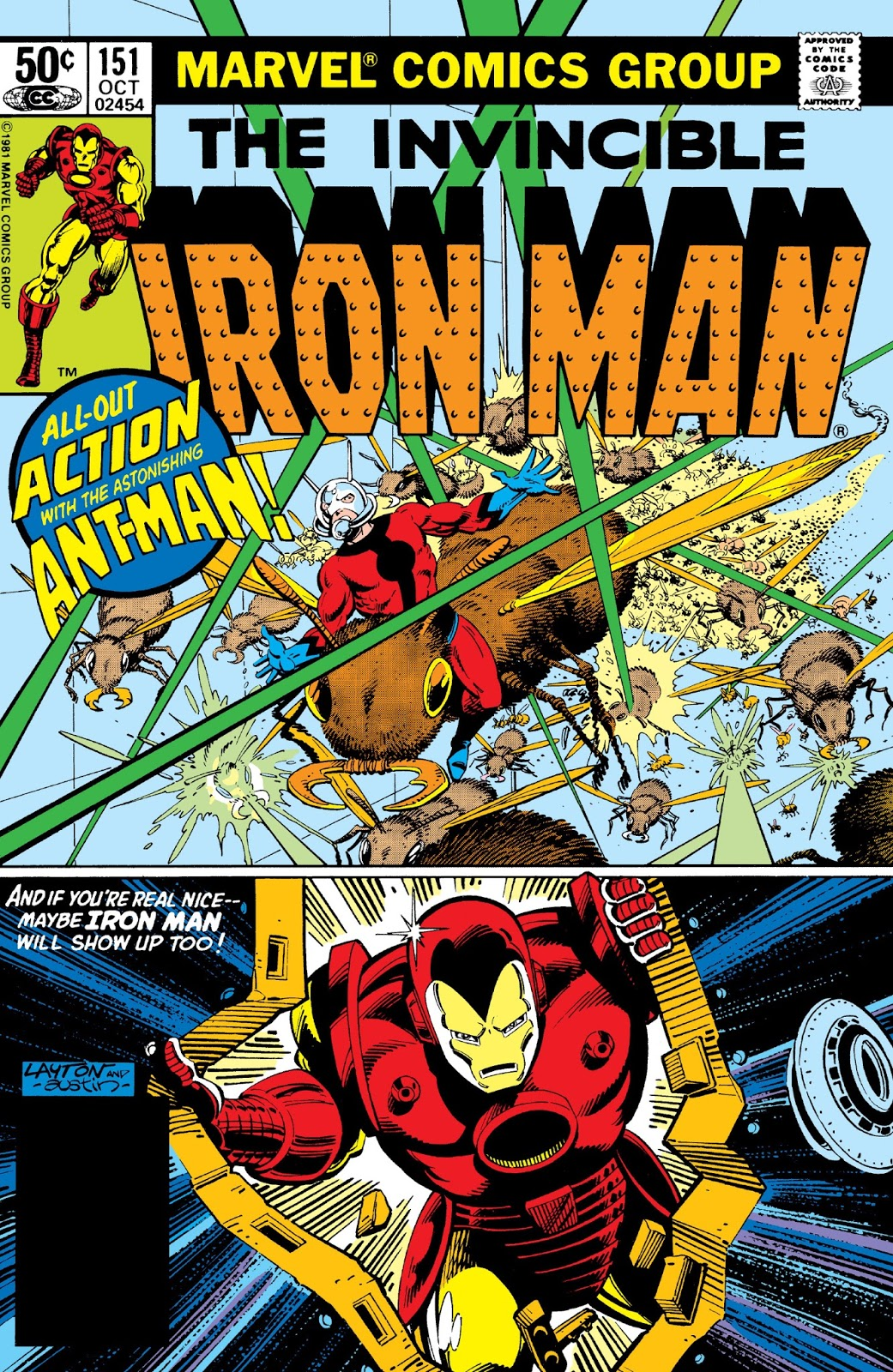 Marvel Comics of the 1980s: 1981 - Anatomy of a Cover - Iron Man ...