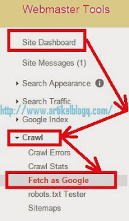 gambar cara fetch as google url blog