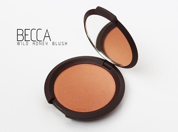 becca wild honey mineral blush