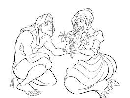 Disney Tarzan Coloring Pages Printable