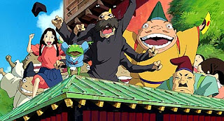 The colourful cast of Spirited Away