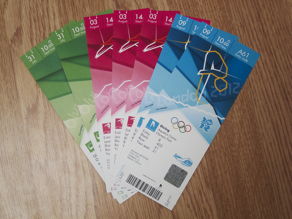 London 2012 Olympic Games Park tickets