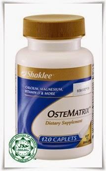 kalsium ostematrix shaklee