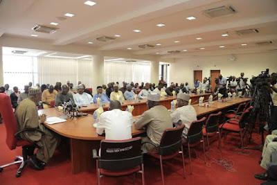 Nigerian Union of Journalists visit Saraki