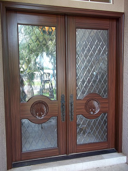 Paint front entry door to look like wood everything i for Paint garage door to look like wood