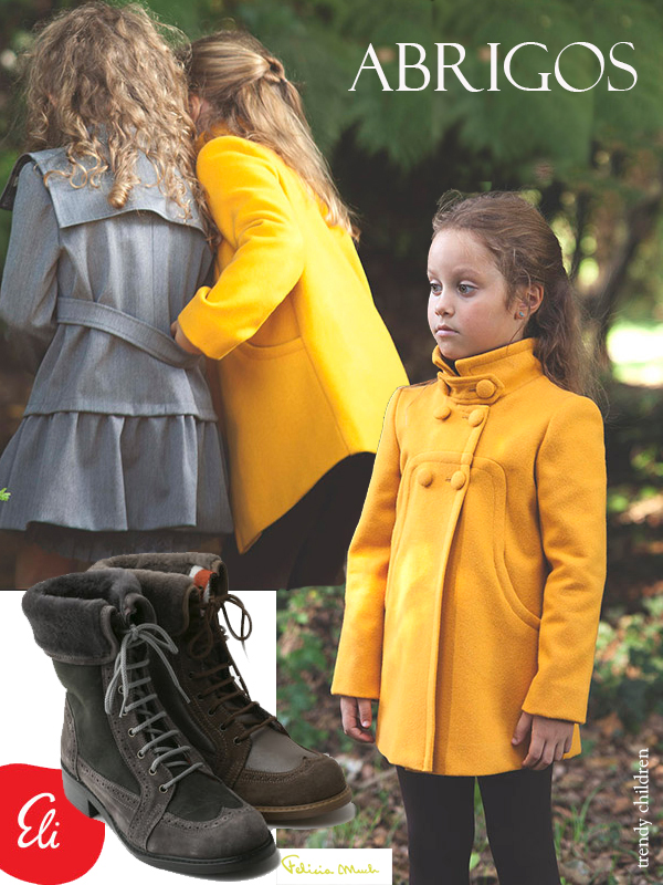 tendencias moda infantil otoño invierno 2014 2015