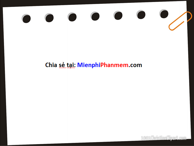 Hình nền PowerPoint giấy note
