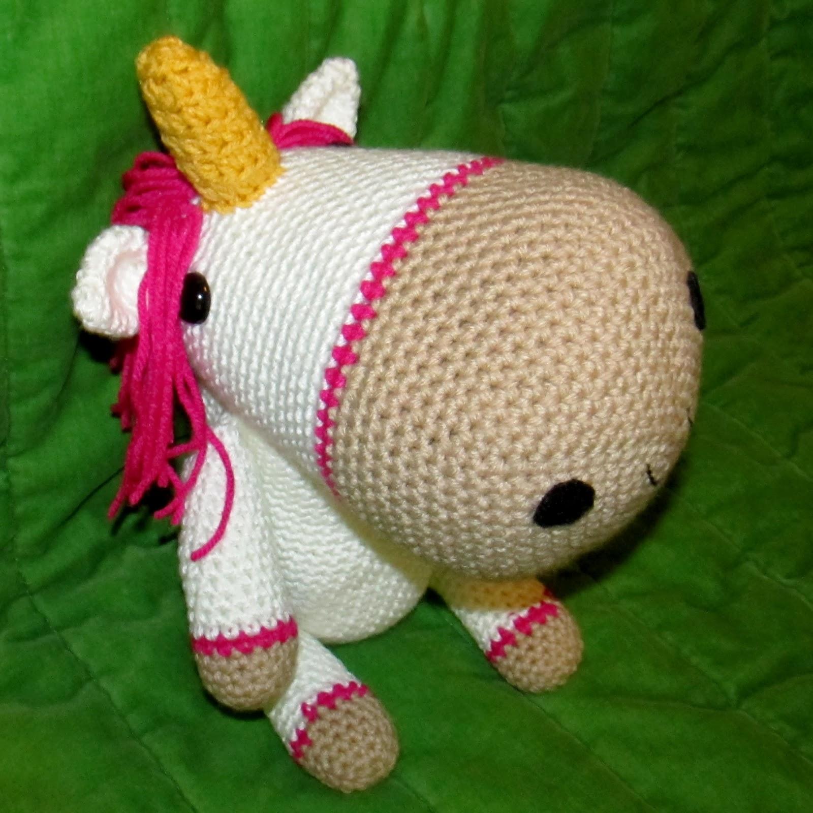 Crochet Unicorn Pattern : ... Paulas Amigurumi Patterns & Random Cuteness: Unicorn Crochet Along