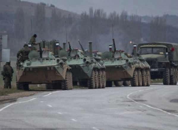 Tentara Rusia Terobos Markas Militer Ukraina di Krimea