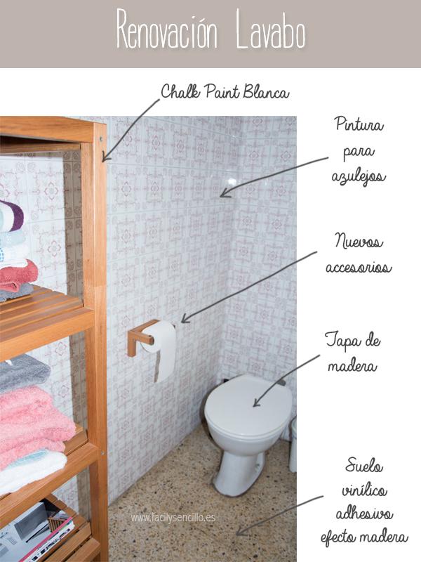 Decorar Un Baño Sin Obras: necesarios para cambiar un baño sin hacer obras, como este, son